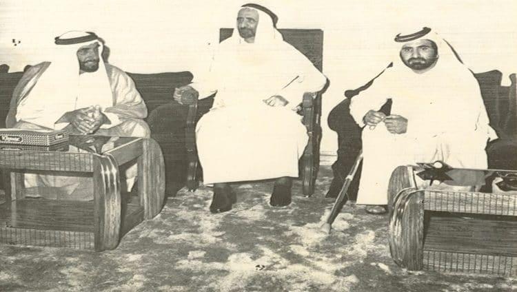 محمـد بن راشد في ذكرى رحيل والد دبي ومهندسها: راشد بن سعيد تصدّعت برحيله القلوب