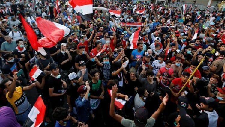 تواصل احتجاجات العراق لليوم الرابع على التوالي