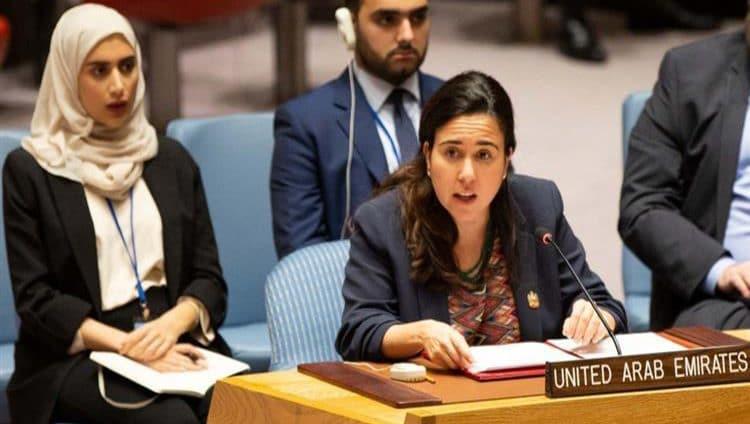 الإمارات تؤكد أهمية تهيئة الظروف المناسبة لإحلال السلام في الشرق الأوسط