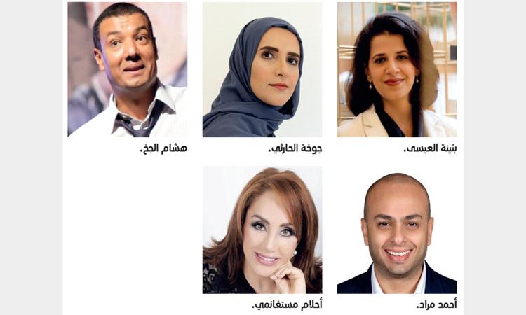 قائمة طويلة من المبدعين العرب في ضيافة «الشارقة للكتاب»