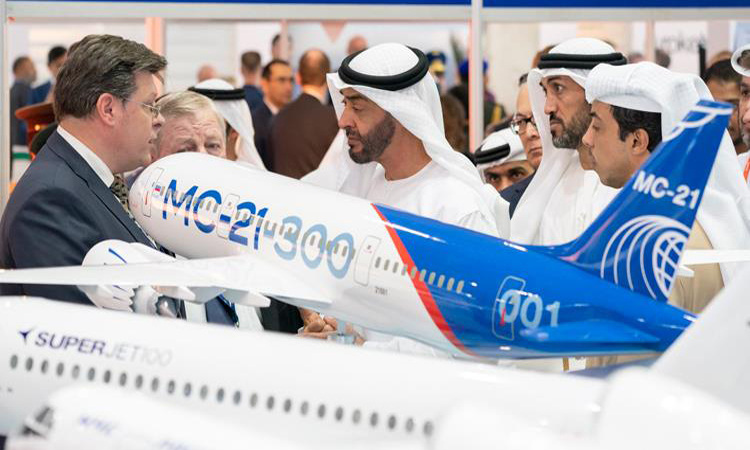 محمد بن زايد: قطاع الطيران أحد محركات الاقتصاد الوطني