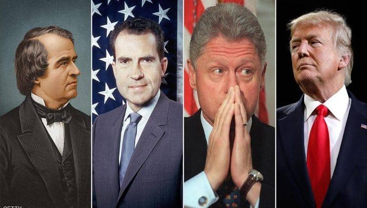 ترامب ليس الوحيد.. تعرف على رؤساء أمريكا الذين تعرضوا لإجراءات العزل