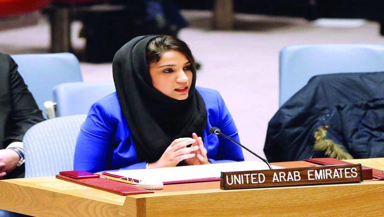 الإمارات تدعو لخلق بيئة ملائمة لجهود السلام