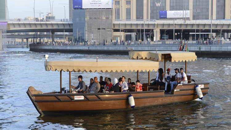 درهمان فقط تعرفة التنقل بين محطات قناة دبي المائية