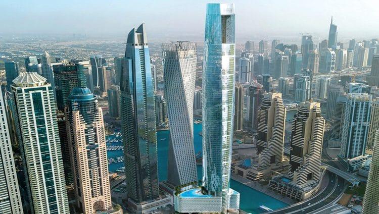أطول فندق بالعالم في دبي مجدداً