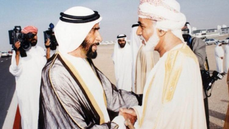 """""""الإمارات لن تنسى قابوس"""" يتصدر """"تويتر"""".. ومغردون: """"كنا وسنبقى نِعمَ الاخوة ونِعمَ الجيرة"""""""