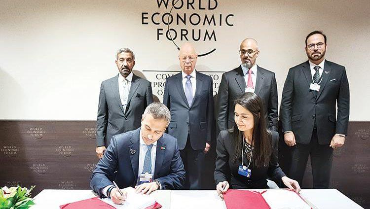عبر اتفاقية بين الإمارات و«الاقتصادي العالمي» في دافوس.. تطوير المهارات المستقبلية لمليار شخص حول العالم