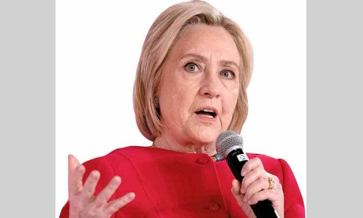 هيلاري كلينتون تحذّر من إعادة انتخاب ترامب