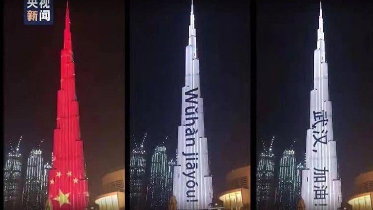 شبكة CGTN الصينية تبرز وقوف الإمارات إلى جانب الصين في مكافحة كورونا