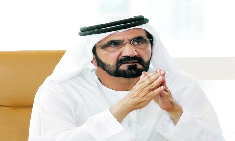 محمد بن راشد يصدر قانوناً بشأن مركز دبي للسلع المتعددة