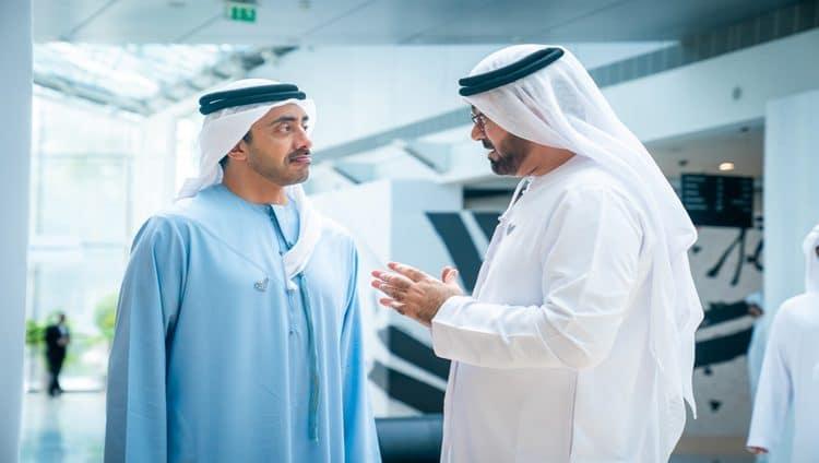 عبدالله بن زايد : قطار التنمية المتسارع نحو مئوية الإمارات انطلق