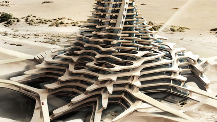 %25 من المباني الجديدة في دبي ثلاثية الأبعاد 2030