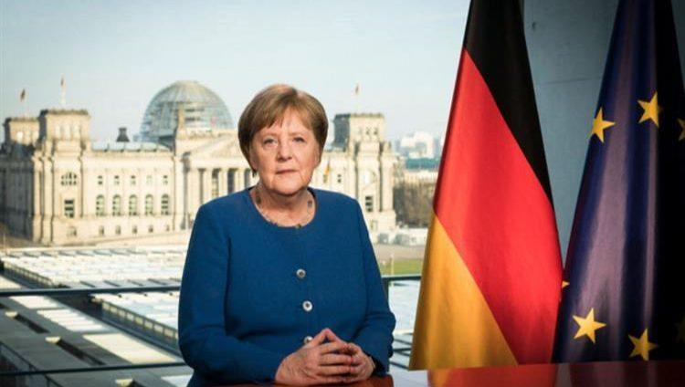 نتيجة ثاني فحص كورونا للمستشارة الألمانية جاءت سلبية