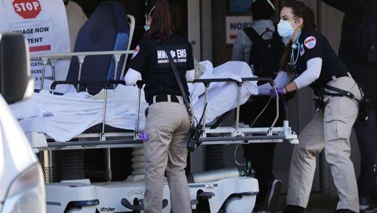 أميركا تسجل 1343 حالة وفاة بكورونا في يوم واحد