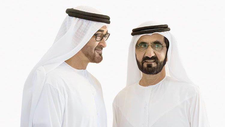 محمد بن راشد ومحمد بن زايد لمقدمي الرعاية الصحية: شكراً