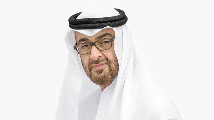 محمد بن زايد يعزي هاتفياً أحمد الحاج الحبروش بوفاة والدته