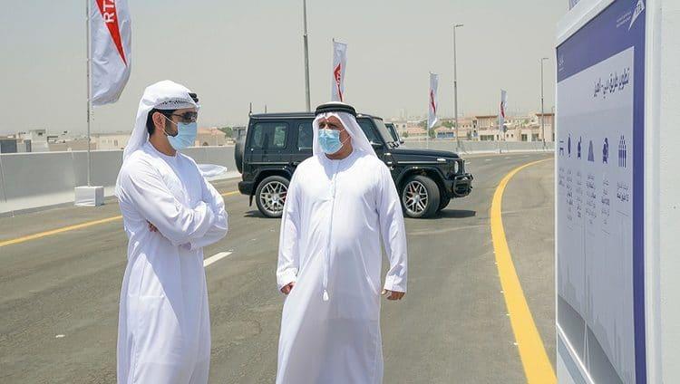 حمدان بن محمد: مشاريع الطرق من المؤشرات المهمة لقدرات المدن الكبرى الاقتصادية والتنموية
