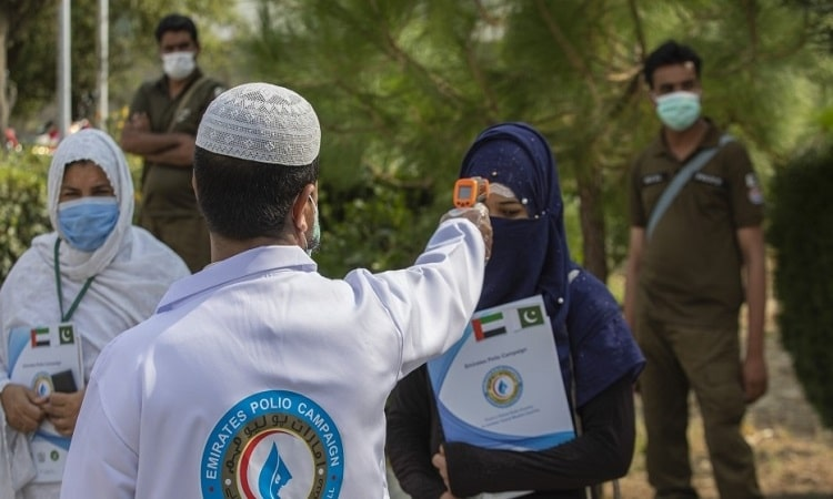 ضمن مبادرة محمد بن زايد.. تنفيذ أول حملة على مستوى العالم لتطعيم الأطفال ضد شلل الأطفال في ظل «كورونا»
