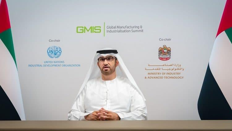 سلطان الجابر : الإمارات ماضية من خلال رؤية القيادة الرشيدة في التركيز على الاستفادة من التكنولوجيا الحديثة لتعزيز نمو الصناعات الوطنية والارتقاء بتنافسيتها