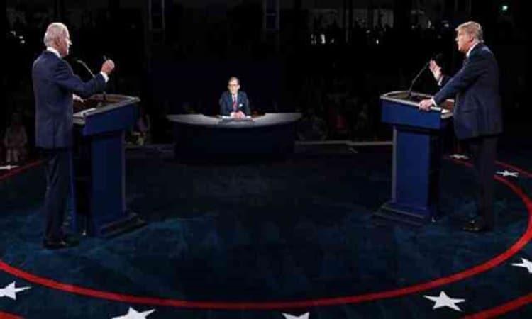 إن شاء الله.. بايدن يرد على ترامب باللغة العربية في أول مناظرة رئاسية