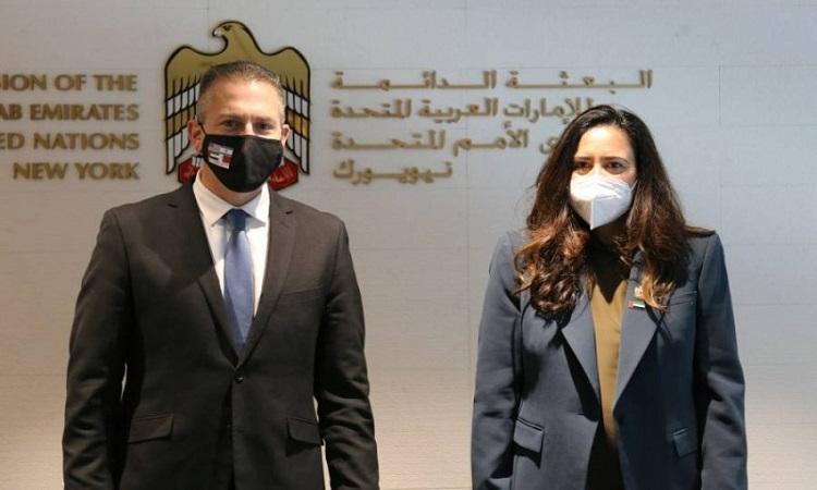 مندوبا الإمارات وإسرائيل في الأمم المتحدة يبحثان جهود تعزيز السلام