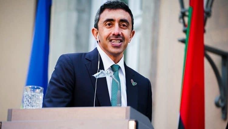 عبدالله بن زايد: الشرق الأوسط دخل حقبة جديدة من الازدهار بعد توقيع «معاهدة السلام»