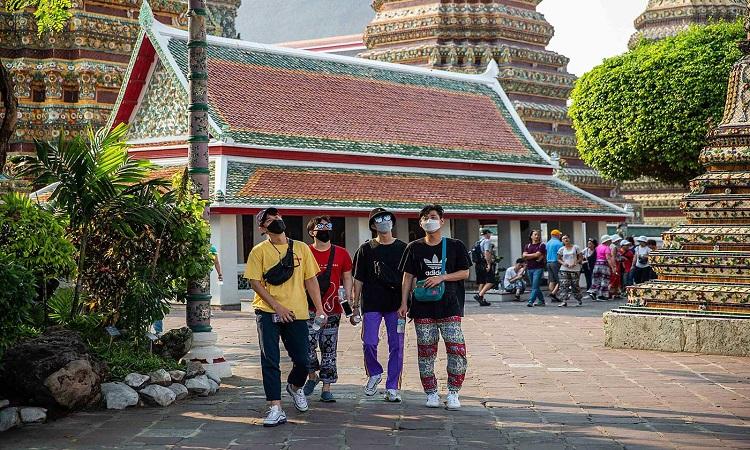 عودة السياح إلى تايلاند لأول مرة منذ مارس الماضي