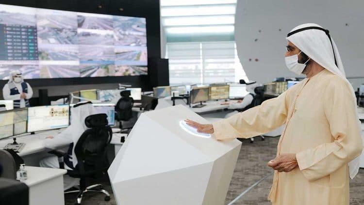 محمد بن راشد يفتتح مركز دبي للأنظمة المرورية الذكية بتكلفة 590 مليون درهم