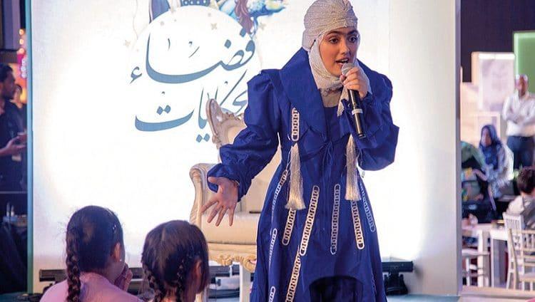 الحكواتية الإماراتية هاجر يوسف: أحلامي الفنية كبيرة