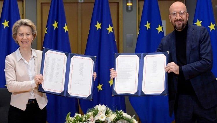 الاتحاد الأوروبي يوقع اتفاق «بريكست» عشية انفصال بريطانيا