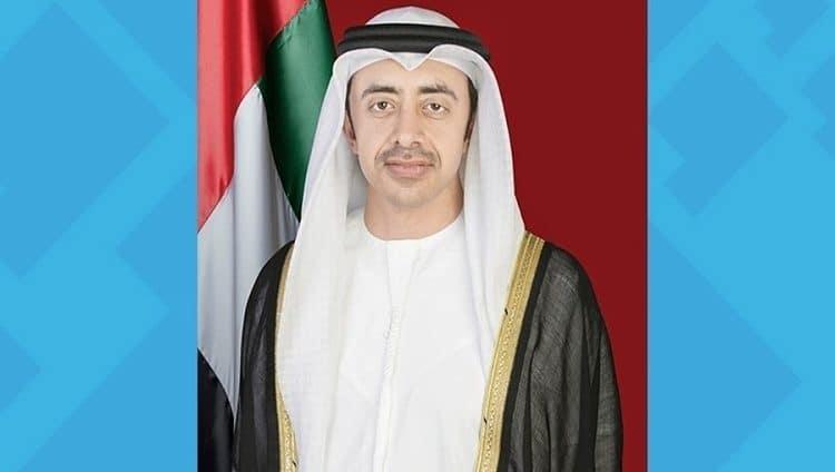 عبدالله بن زايد يشهد أمسية «الخارجية والتعاون الدولي» احتفالاً باليوم الوطني الـ 49