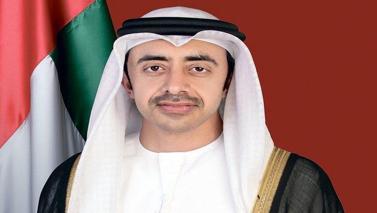 """عبدالله بن زايد : تحديات """"كوفيد 19"""" أكدت أهمية العمل متعدد الأطراف لتحقيق الازدهار والتنمية"""
