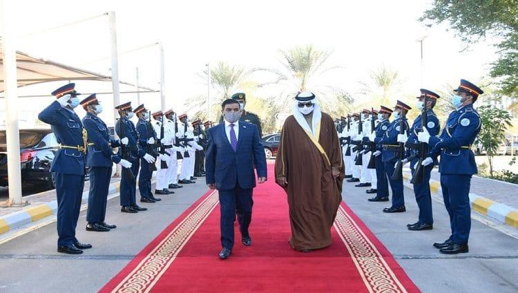 البواردي يبحث علاقات التعاون الدفاعي المشترك مع وزير الدفاع العراقي