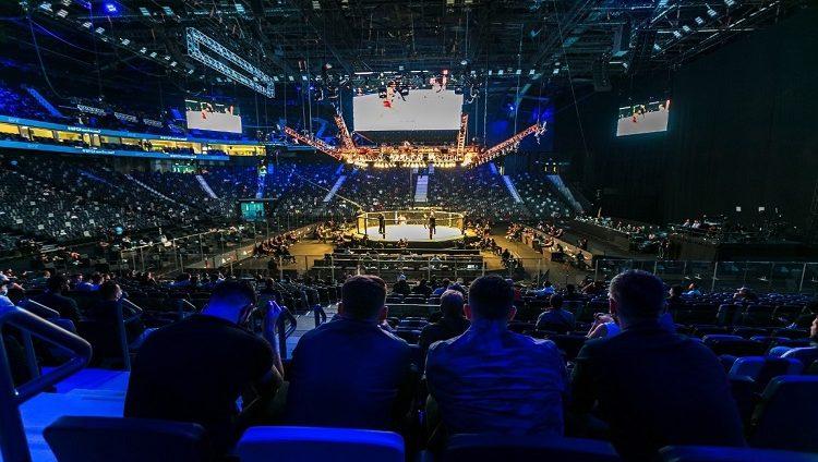 """الفعاليات الرياضية تدخل مرحلة جديدة في أبوظبي مع عودة الجماهير لحضور ثلاثية جزيرة النزال من """"يو إف سي"""""""