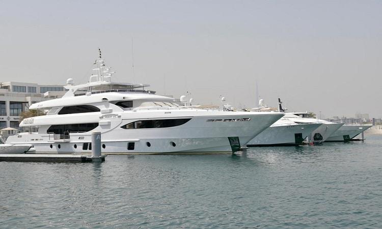 4000 تصريح لرسو السفن في مياه دبي خلال النصف الأول من 2021