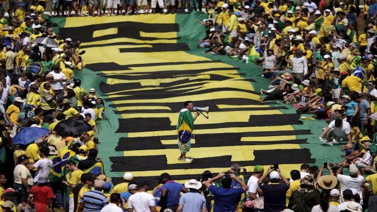 تظاهرات في البرازيل تطالب بتنحي رئيسة البلاد