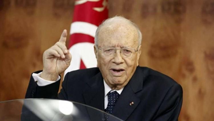 الرئيس التونسي يدعو إلى «الوحدة الوطنية» لمجابهة «الإرهاب»