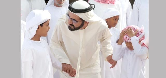 محمد بن راشد: نؤمن ونتمسك بقوة الإرادة.. ونرفض إرادة القوة