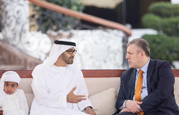 محمد بن زايد: الإمارات بقيادة خليفة تسعى لتعزيز جسور التعاون مع الدول الصديقة
