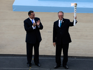 الشعلة الأولمبية تصل إلى البرازيل