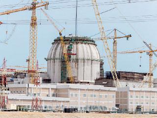 تركيب حاوية المفاعل الثالث فـــي بــراكة نهاية الشهر الجاري