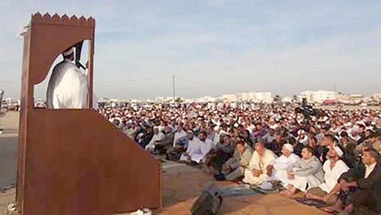 حظر صلاة العيد خارج المساجد في تونس