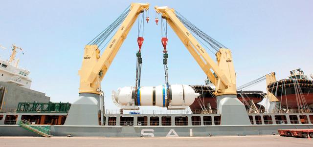 الانتهاء من أعمال تركيب مولدات البخار بالمحطة الثالثة في «براكة»