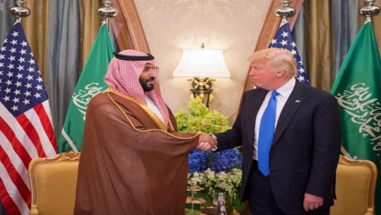 الرئيس الأمريكي يستعرض مع ولي ولي العهد التعاون الاقتصادي