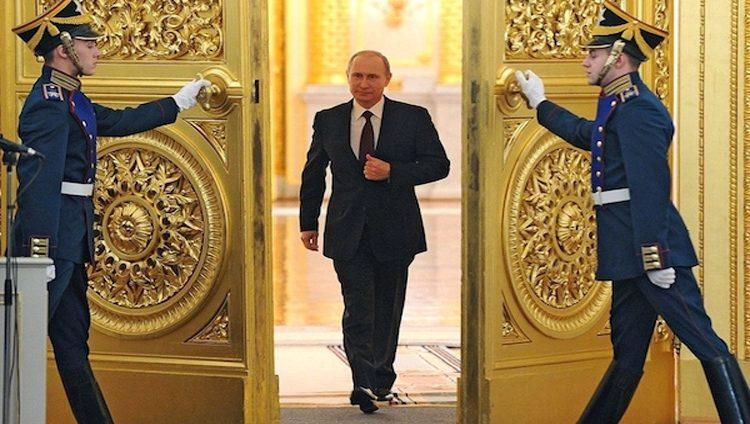 بوتين يؤدي اليمين رئيساً لروسيا لفترة ولاية رابعة