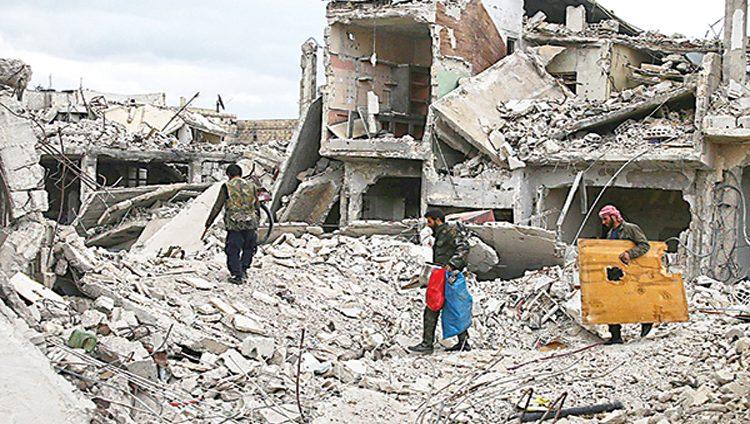 الأمم المتحدة: «جرائم حرب» و«ضد الإنسانية» بريف دمشق