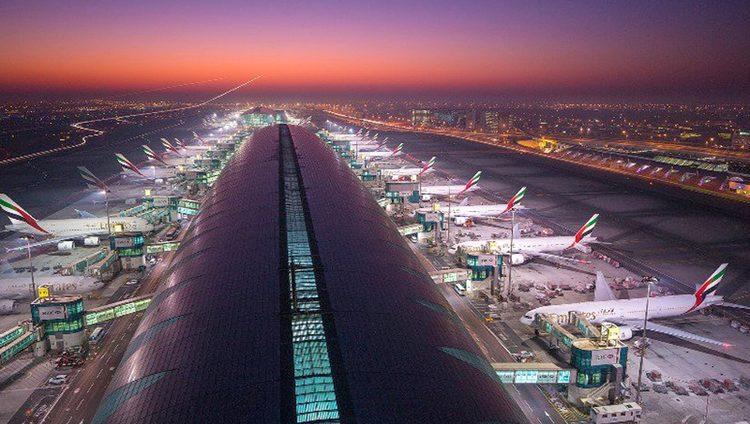 مطار دبي الدولي في انتظار عبور المسافر رقم «مليار» بنهاية 2018