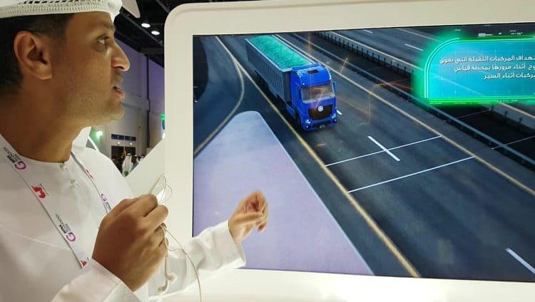 روبوت يوقف المركبات الثقيلة في دبي .. وطائرة من دون طيار تكشف مخالفاتها