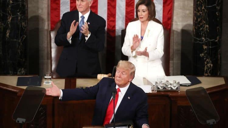 """ترامب في خطاب حال الاتحاد: أوفيت """"بوعودي"""""""