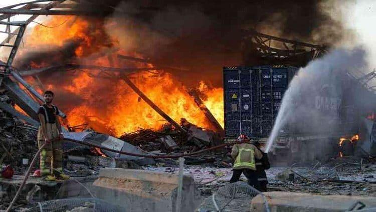 وفاة زوجة سفير هولندا في لبنان جراء انفجار بيروت